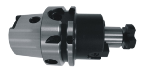 HSK - Shell Mill Holder With Drive Key DIN 6357